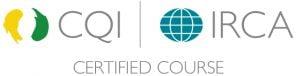 CQI IRCA certified logo