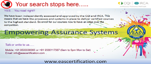 ISO Lead Auditor Training Scheme