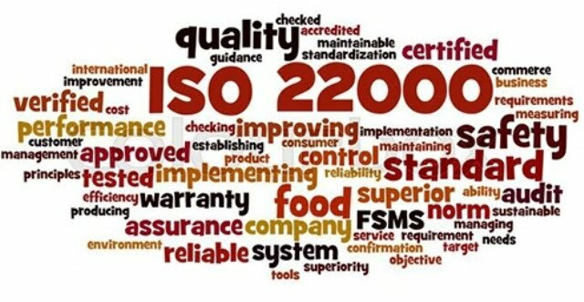 ISO for food Industry