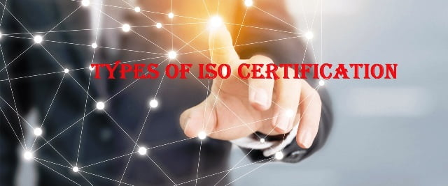 Types of ISO certification