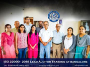 ISO Lead Auditor Trianing In-House Programe at IQC Bangalore